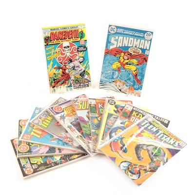 """Teen Titans"", ""Supergirl"", Superman"", ""Dr. Doom"", ""The Sandman"" Comic Books"