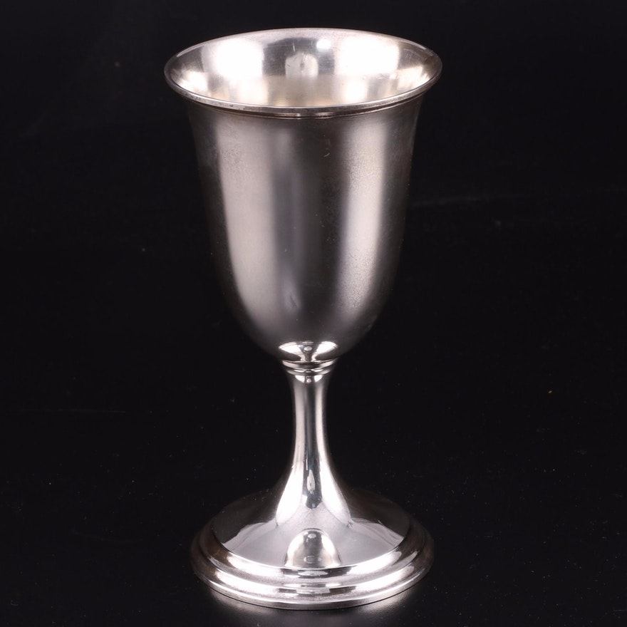 S. Kirk & Son Sterling Silver Goblet, Early 20th Century