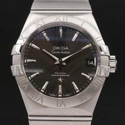 Omega Constellation Co-Axial Stainless Steel Automatic Wristwatch