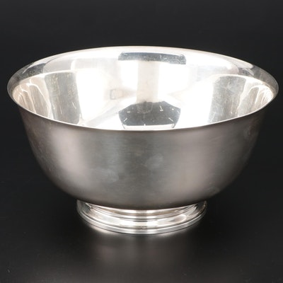 Tiffany & Co. Revere Style Sterling Serving Bowl, Mid to Late 20th Century