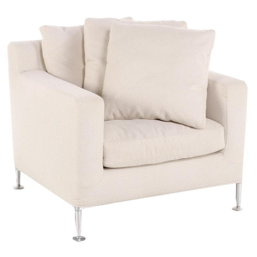 "Antonio Citterio for B&B Italia ""Harry"" Upholstered Lounge Chair"
