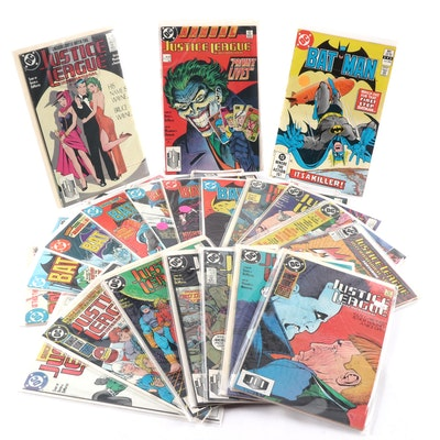 """Batman"" and ""Justice League"" Comic Books"
