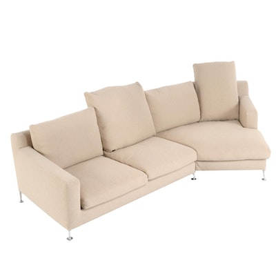 "Antonio Citterio for B&B Italia ""Harry"" Upholstered Sectional Sofa"