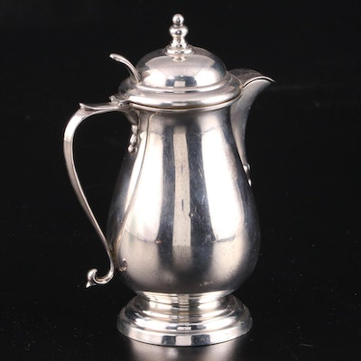 Manchester Silver Co. Sterling Silver Lidded Creamer, Early to Mid 20th Century