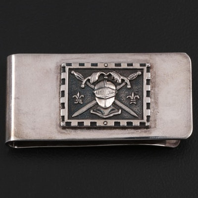 American Sterling Silver Money Clip