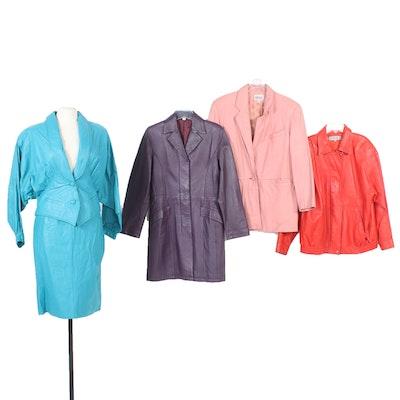 Prezzia, Studio Stiena, Avanti Leather Jackets in Various Colors