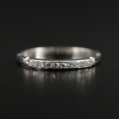 Vintage 18K Gold Diamond Ring