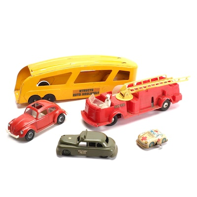 Toy Trucks and Cars, Mid-20th Century