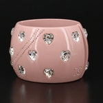 Chanel Rhinestone Cuff Bracelet