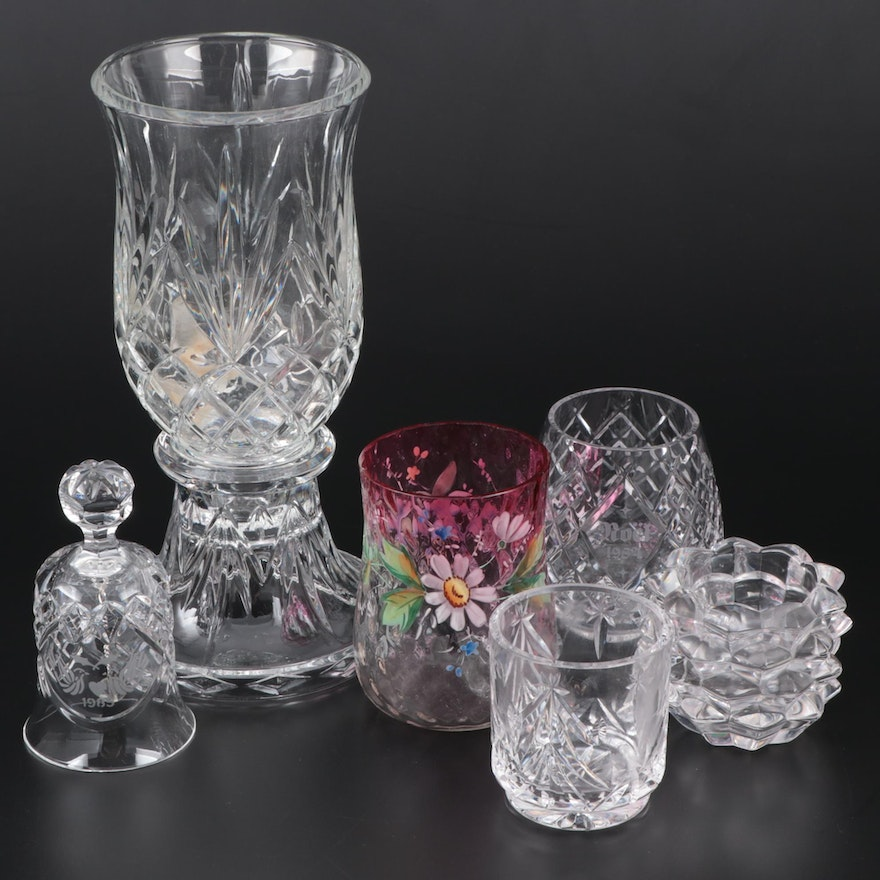 Waterford Crystal, Tiffany & Co. and Lenox Candle Holders and Other Décor