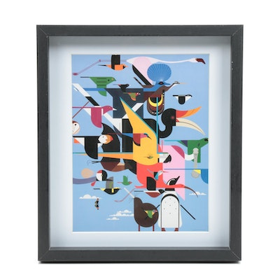 Offset Lithograph After Charley Harper