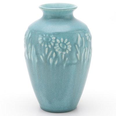 Rookwood Pottery Matte Glaze Ceramic Production Vase, 1950