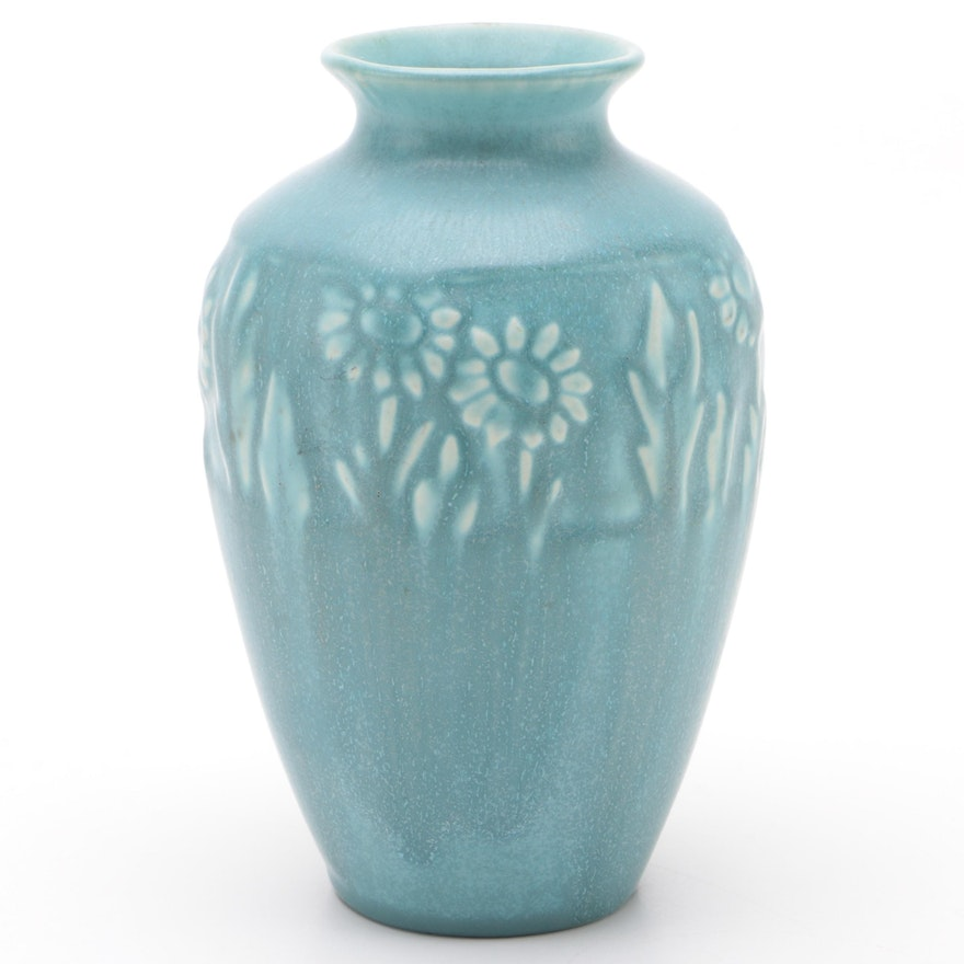 Rookwood Pottery Matte Glaze Ceramic Production Vase, 1950