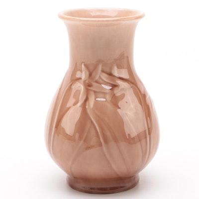 Rookwood Pottery Ceramic  Madder Wine Glaze Production Vase, 1946