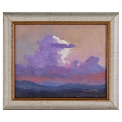 "Jeff Love Landscape Oil Painting ""Serene"""