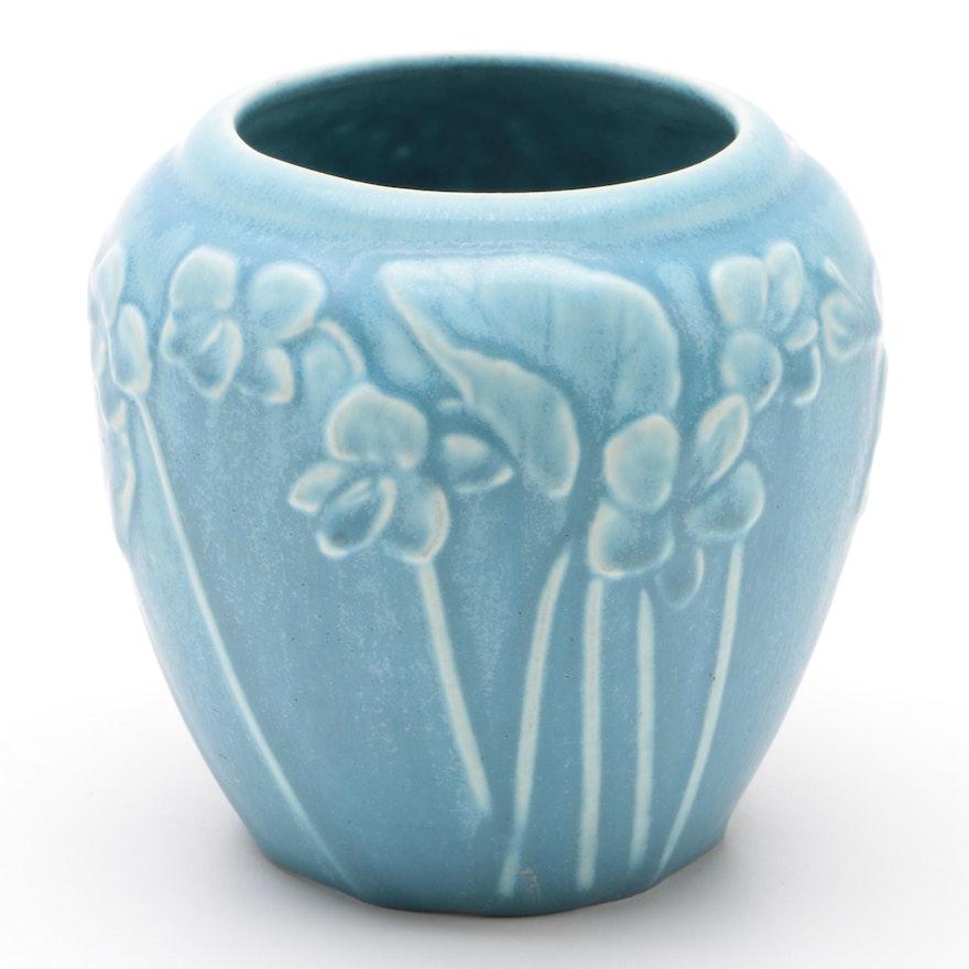 Rookwood Pottery Matte Glaze Ceramic Production Vase, 1943