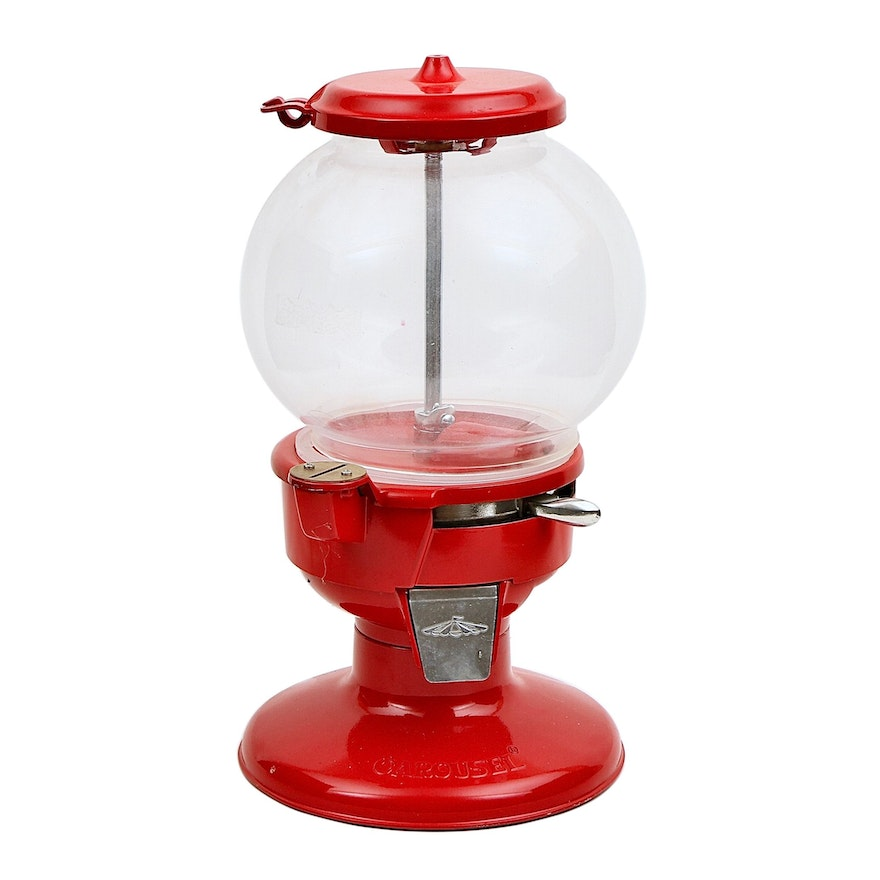 Carousel Gum Ball Machine