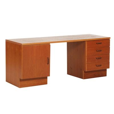 Danish Modern Style Teak Desk