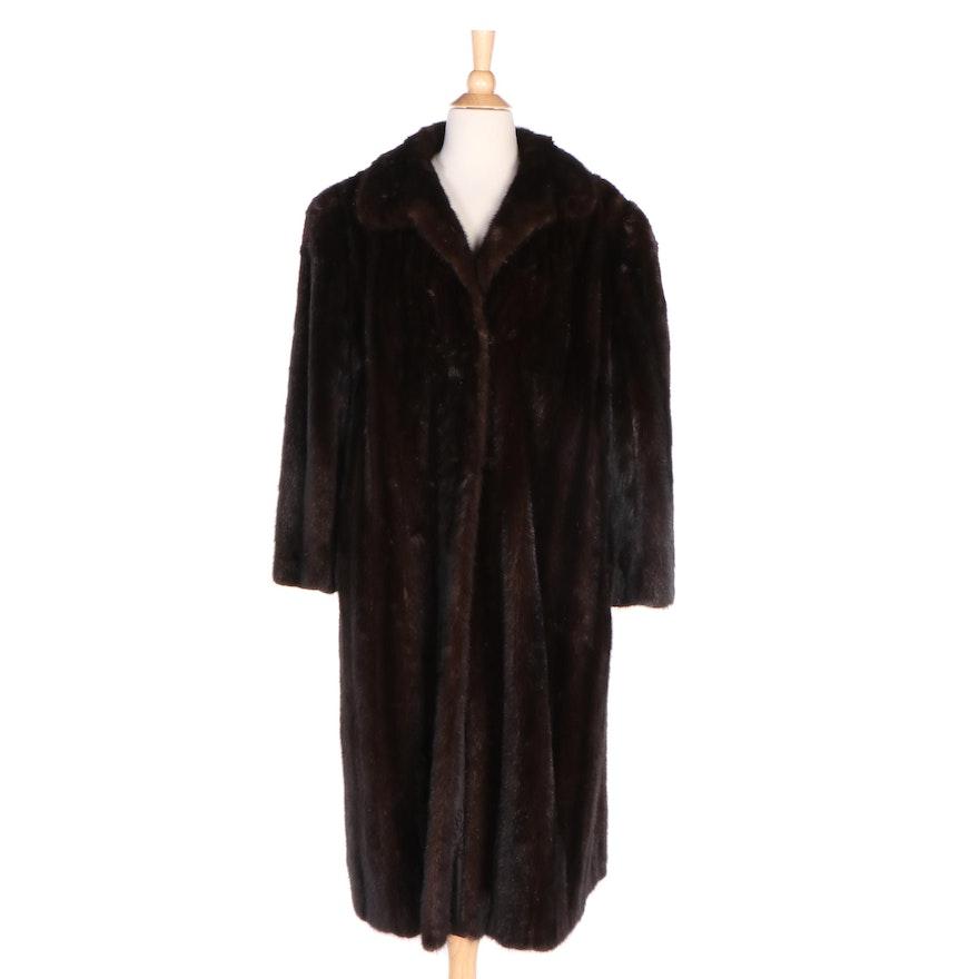 Dark Brown Mink Fur Coat from Fettner-Friedman Furs of Cincinnati