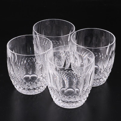 """Waterford Crystal """"Colleen"""" Old Fashioned Glasses, Mid to Late 20th Century"""