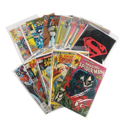 Spider-Man, Supergirls, Superman Memorial Set and More Comic Books