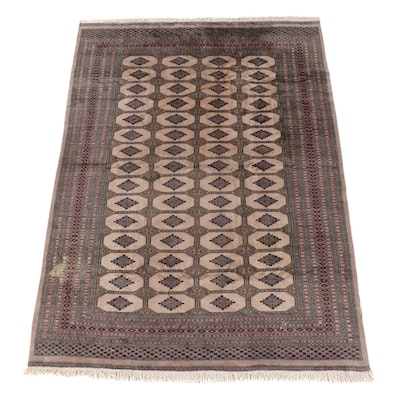 8'1 x 11'6 Hand-Knotted Persian Chenar Wool Rug
