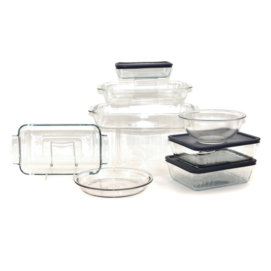 Pyrex Bakeware Casserole Dishes and Bowls