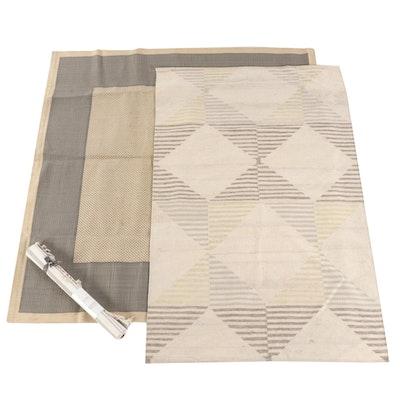 2'11 x 5'6 Handwoven West Elm Kilim Wool Rug