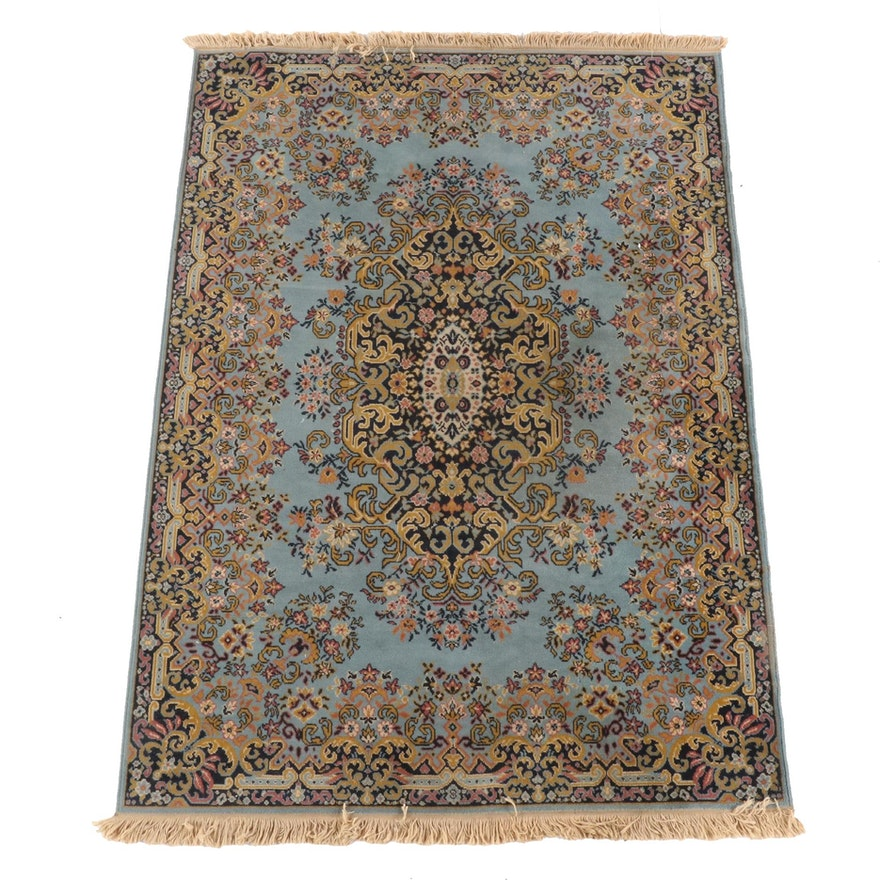 5'6 x 8'4 Machine Made Belgian Royal Persian Wool Area Rug