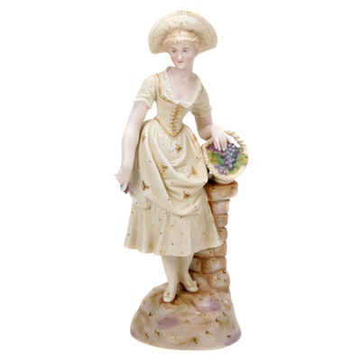 Rudolstadt Porcelain Figurine, Late 19th/Early 20th Century