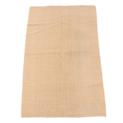4'11 x 8'1 Hand-Hooked Wool Rug