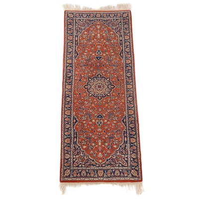 2'9 x 7'9 Hand-Knotted Indian Agrippa Wool Carpet Runner