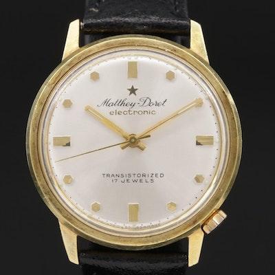 Matthey Doret Electronic Wristwatch
