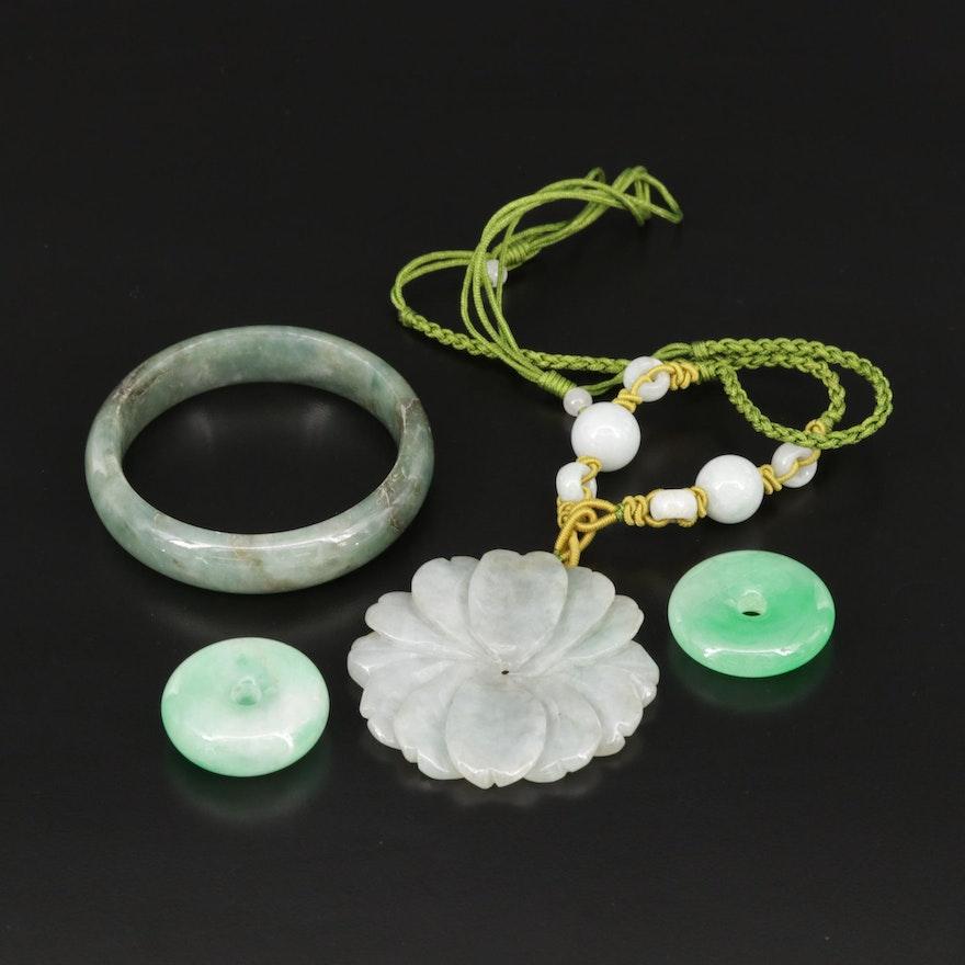 Assorted Jadeite Jewelry