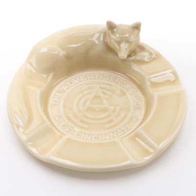 Rookwood Pottery Commemorative Astray for The Advertisers Club of Cincinnati