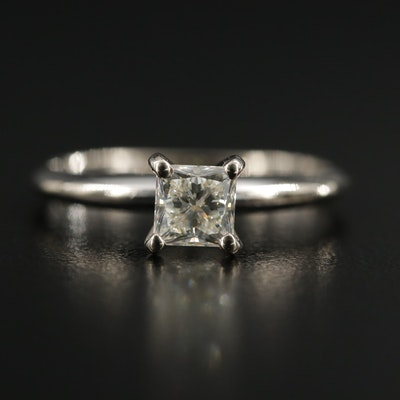 14K Gold 0.66 CT Diamond Ring