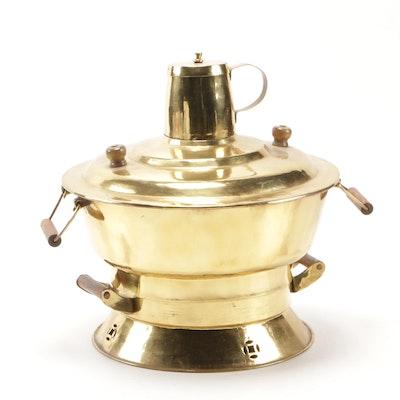 Brass Hibachi Brazier