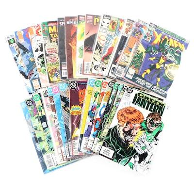 Green Lantern, X-Men, Spider-Man and More Comic Books