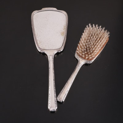 Webster Co. Sterling Silver Two-Piece Vanity Set