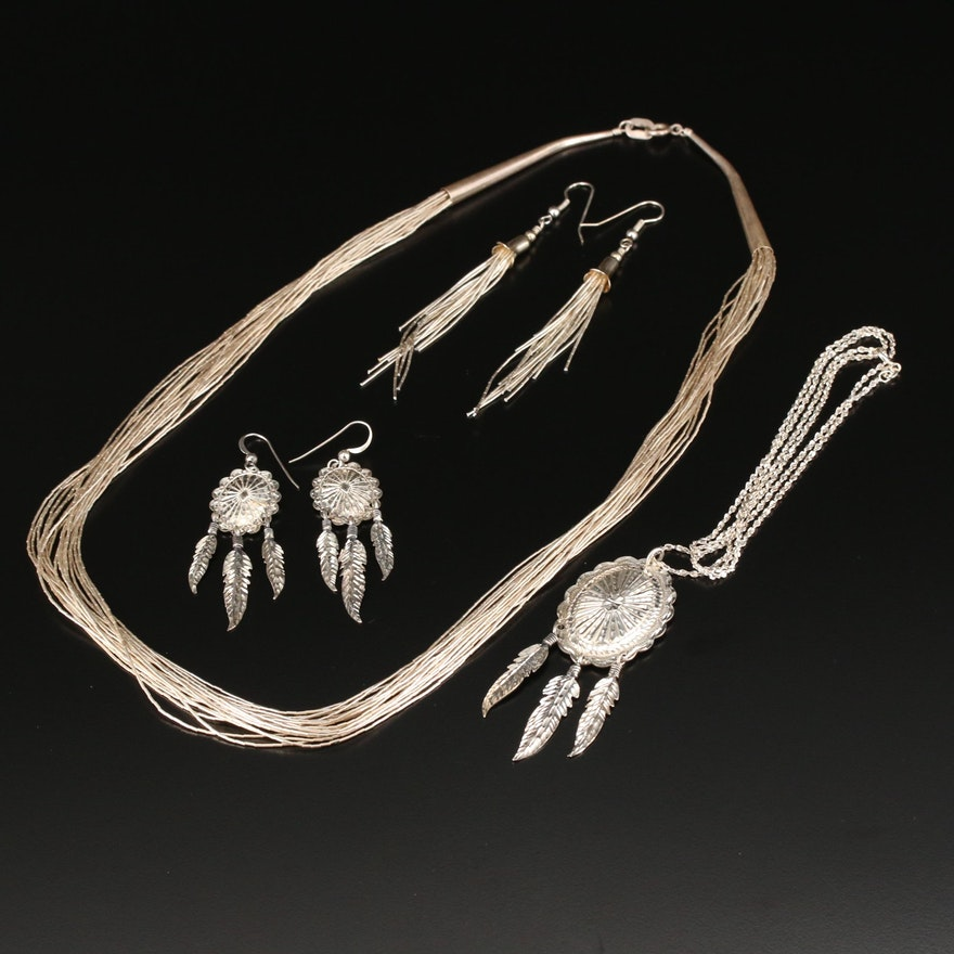 Carolyn Pollack Liquid Silver Jewelry and Southwestern Sterling Jewelry