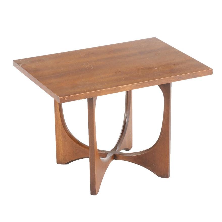 American Mid Century Modern Walnut End Table