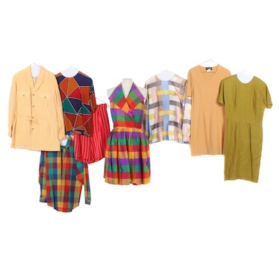 Ellen Tracy, Liz Claiborne and More Silk and Linen Dresses and Separates