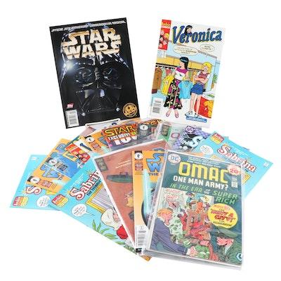 Star Wars, KISS, Scooby-Doo, Sabrina and More Comic Books