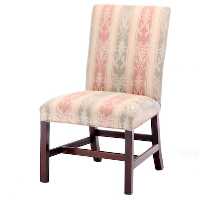 George III Mahogany Side Chair, 19th Century