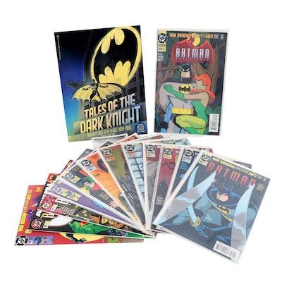 "Batman Comic Books Plus ""Tales of the Dark Knight"" Book, First Edition"