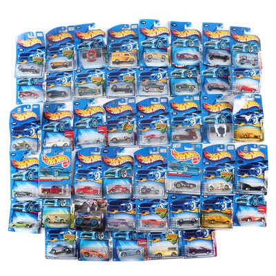 Hot Wheels Cars in Packages Including Hot Rods and Monster Trucks