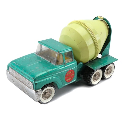 "Structo ""Ready-Mix"" Pressed Steel and Plastic Concrete Toy Truck"