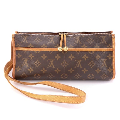 Louis Vuitton Popincourt Crossbody in Monogram Canvas and Vachetta Leather
