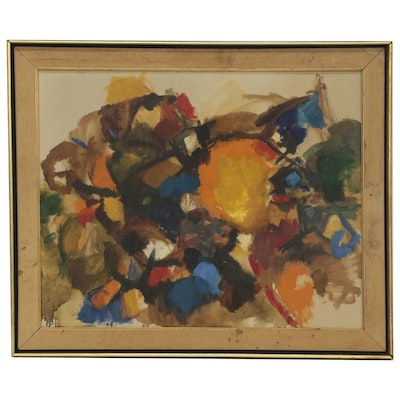 Abstract Oil Painting, 1959