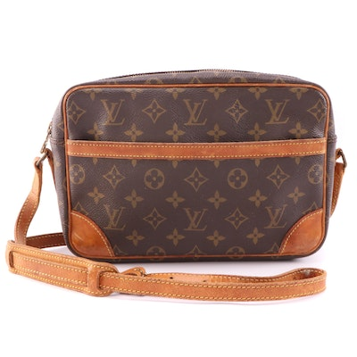 Louis Vuitton Trocadero Bag in Monogram Canvas and Vachetta Leather
